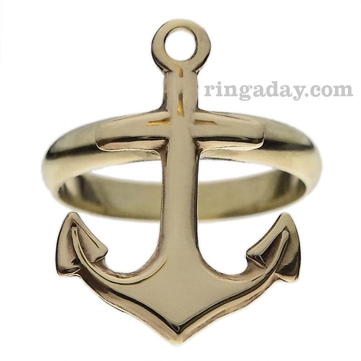 brass anchor ring